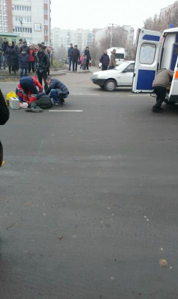 На пішохідному переході у Тернополі машина збила чоловіка