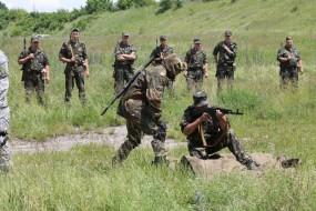 """Військовослужбовці батальйону """"Збруч"""" голосуватимуть на парламентських виборах на дільницях поблизу несення військової служби"""