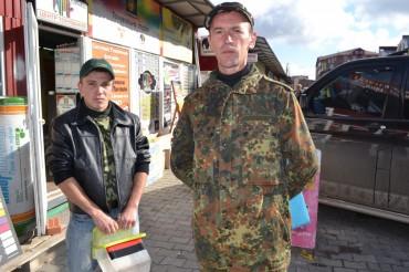"""У Тернополі збирають кошти на батальйон """"Золоті ворота"""" (відео)"""
