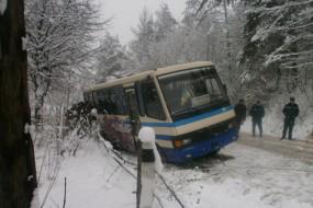 """Як рятували автобус """"Борщів-Заліщики"""""""
