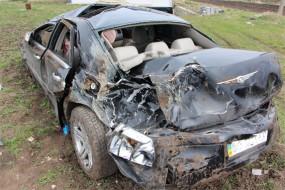 На Тернопільщині у ДТП загинув водій (фото)