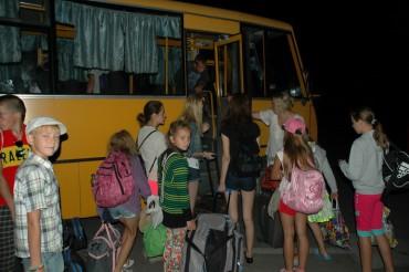Довгождані гості групи «Схід та Захід єдині», діти з прифронтової зони прибули на Тернопілля