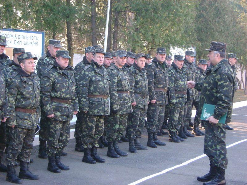 Представники понад тридцяти військових частин Тилу Збройних Сил України відвідали Бережани