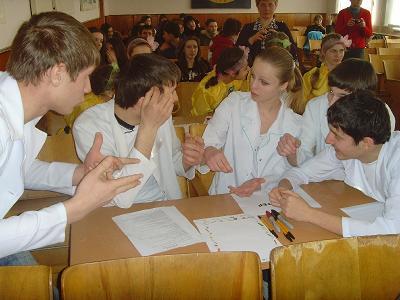 """У Підгаєцькій загальноосвітній школі спеціалісти районного центру зайнятості організували і провели інтелектуально-пізнавальну гру """"Час професіонала"""""""