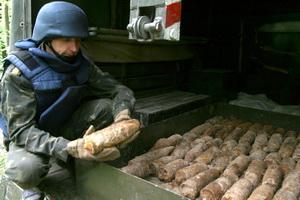 Поблизу с.Застіноче на Теребовлянщині вже виявлено та знешкоджено 837 боєприпасів