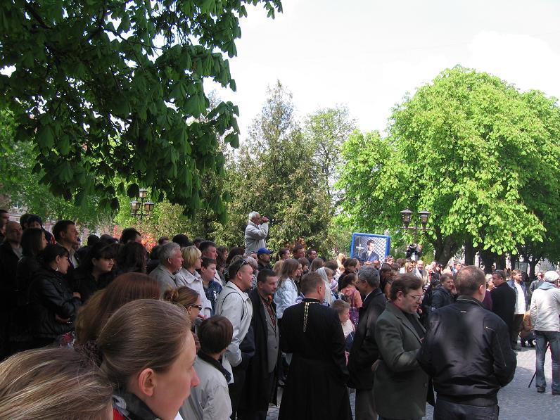 Як у Тернополі відкривали меморіальну дошку Ігорю Пелиху (фоторепортаж)