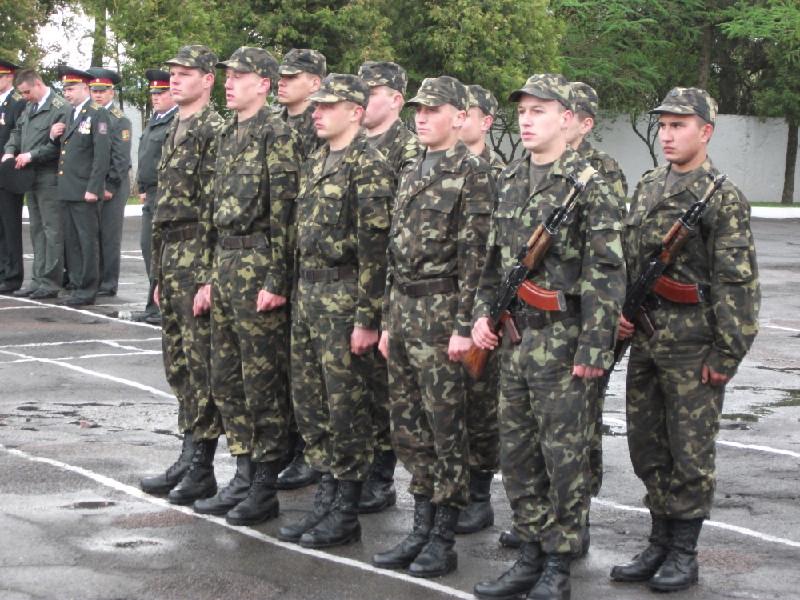 Присягли українському народу новобранці Бережанського полку