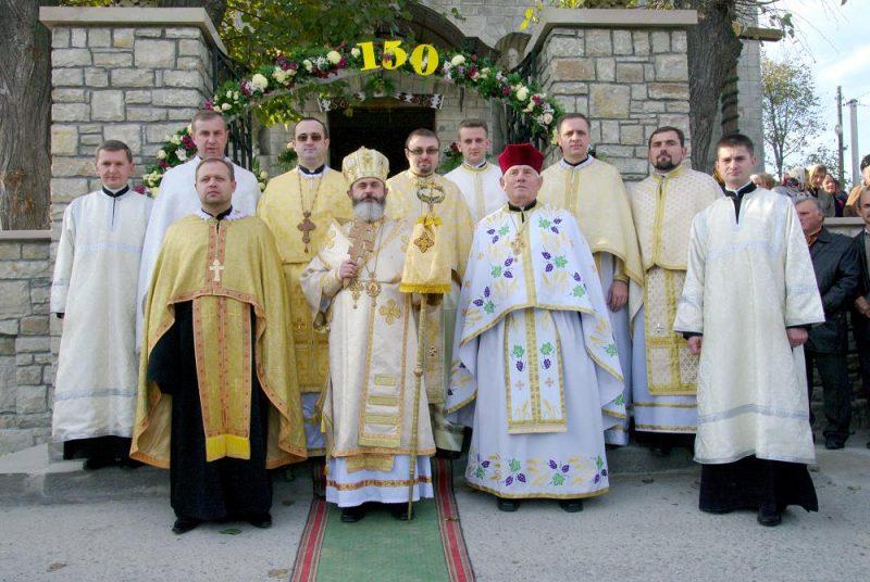 150 років храму Вознесіння Господнього у селищі Велика Березовиця відзначили архиєрейською літургією і освяченям каплички святого Юди Тадея