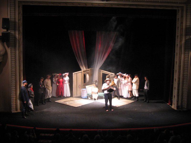 """Ні мер, ні губернатор не спромоглися завітати на відкриття """"Тернопільських театральних вечорів"""""""