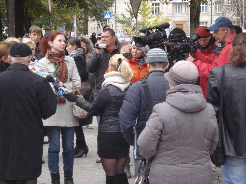 У Тернополі пікетували обласну прокуратуру!