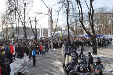 Як у Дніпропетровську штурмували облдержадміністрацію