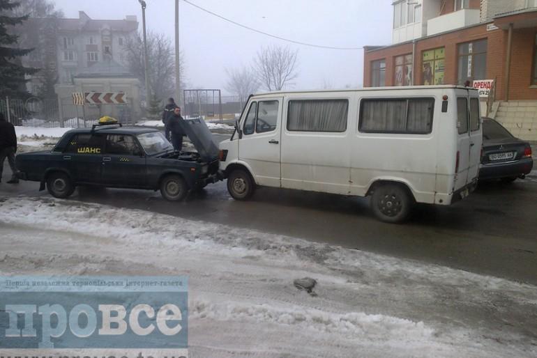 У Тернополі сталася велика аварія