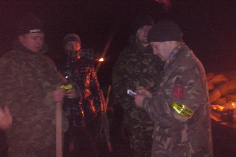 Самооборона Майдану допомогла постраждалим в ДТП у В. Гаях на Тернопільщині