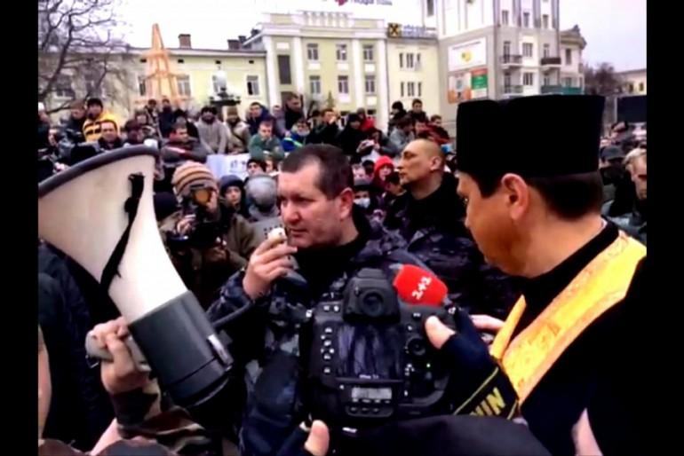 """Тернопільський """"Беркут"""" відрікся Януковича і присягнув Майдану"""