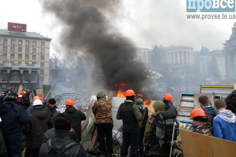 Майдан очима тернопільського фотокора Ігора Крочака