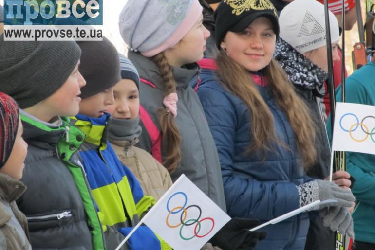 На базі олімпійської підготовки з біатлону підняли Олімпійський прапор
