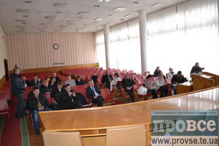 Засідання  виконкому Тернопільської народної ради: Боже, вбережи нас від такої влади