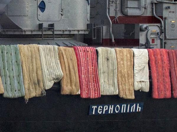 """Як захищали корвет """"Тернопіль"""" фоторепортаж!"""