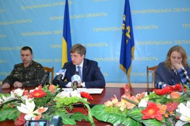 Перша прес-конференція нового голови Тернопільської облдержадміністрації