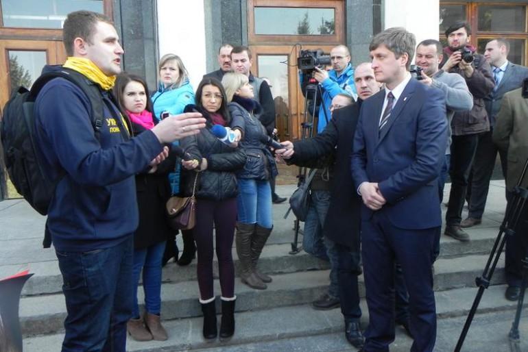 Заява Самооборони Майдану Тернопільщини щодо формування нової місцевої влади