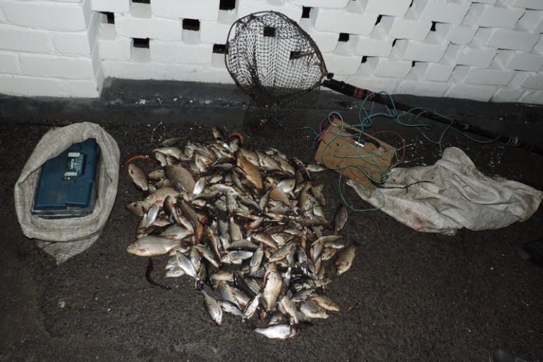 Рибохорона Тернопільщини впіймала затятих браконьєрів