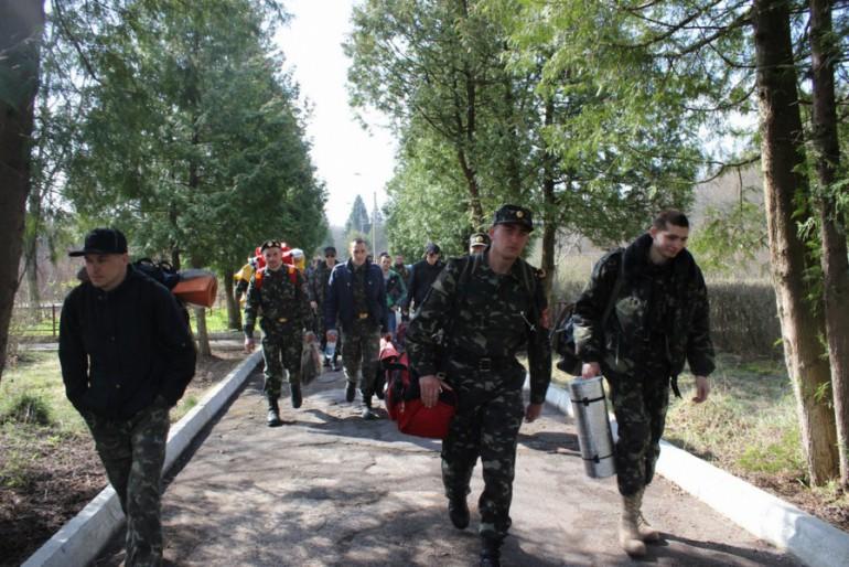 На Тернопільщині розпочався військовий вишкіл майданівців