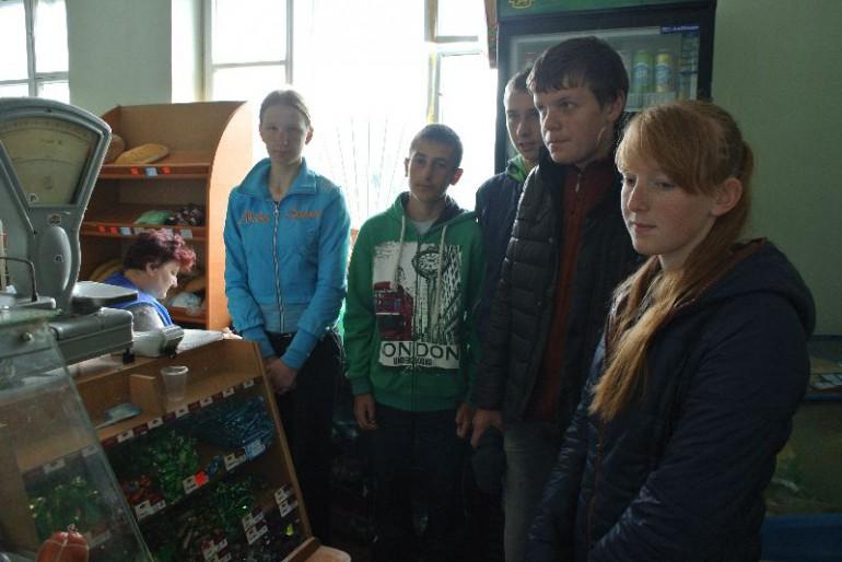 Що курять у Тернопільському міськрайонному центрі зайнятості, коли організовують учням екскурсії в магазин?