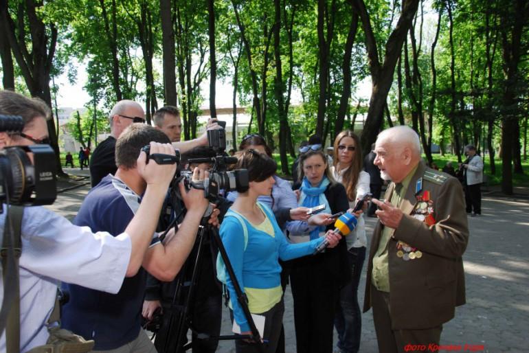 Фоторепортаж з вшанування пам'яті загиблим у Другій світовій війні