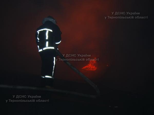 У Тернополі горів речовий ринок