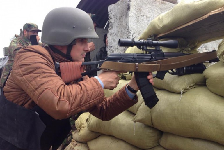 Ще один тернопільський депутат побував на Сході України (фото, відео)