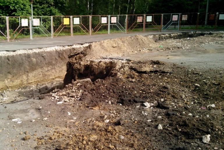 У Тернополі продовжують будувати готель в парку!!!