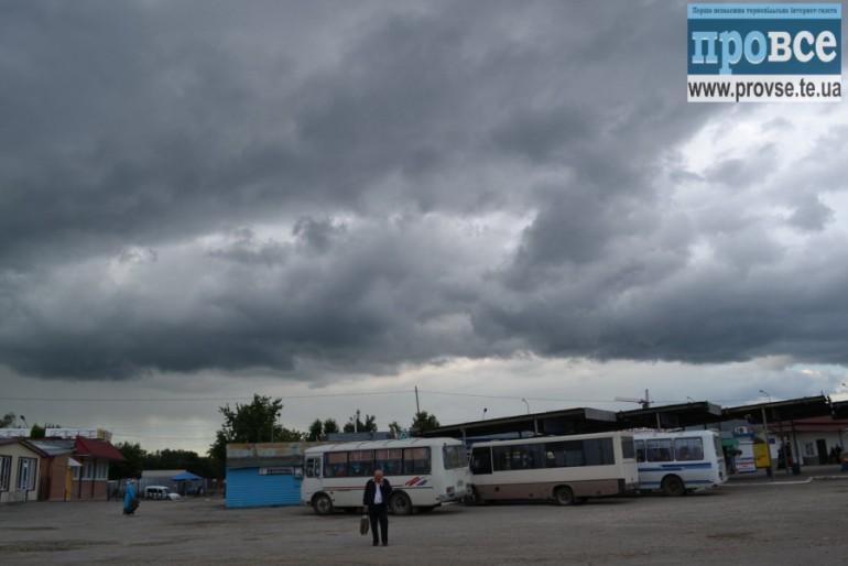 У Тернополі сьогодні дощить
