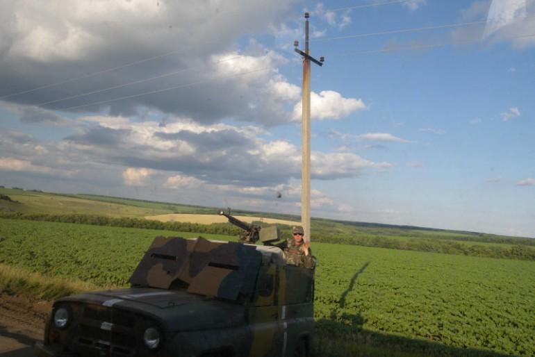 Фоторепортаж із зони АТО: враження Ігоря Крочака
