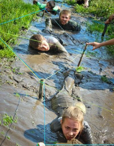 Патріотичний табір «Лисоня» на Тернопільщині зібрав 100 учасників