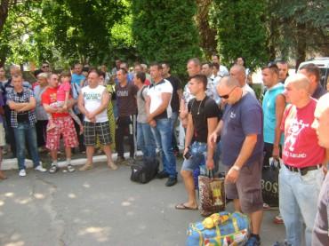 З Тернопільщини відправили у військові частини перших мобілізованих у рамках третьої черги часткової мобілізації