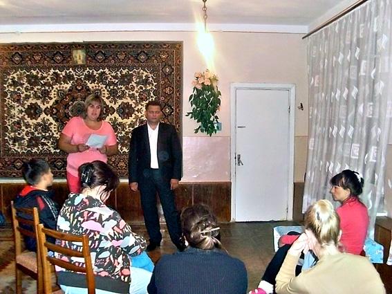 У Тернополі з жінками-переселенками спілкувалося керівництво міграційної  служби