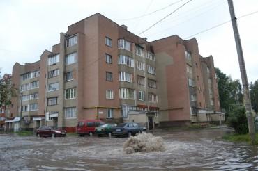 """Не """"медовий фонтан"""" на вулиці Липовій (відео)"""