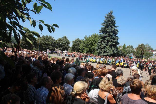 Заліщики попрощалися з героєм Квачем Орестом (фоторепортаж)