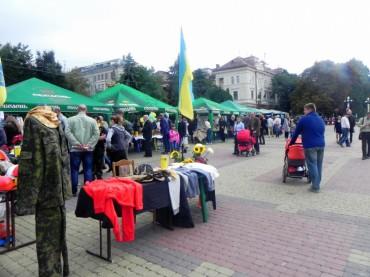 """На """"гаражному розпродажі"""" в Тернополі зібрали 15 тисяч 268 гривень"""