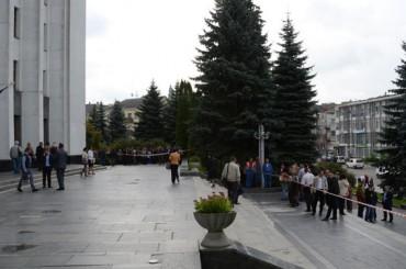 Повідомлення про теракт в Тернопільській облдержадміністрації виявилося хибним