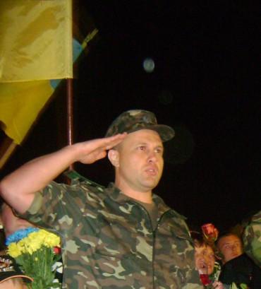 Начальник Тернопільського гарнізону привітав земляків із Днем захисника України