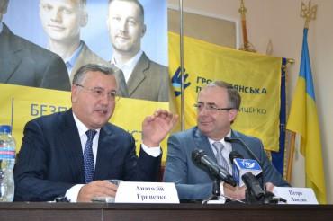 """Анатолій Гриценко у Тернополі розповів, що твориться в країні і чому критикують """"Громадянську позицію"""""""
