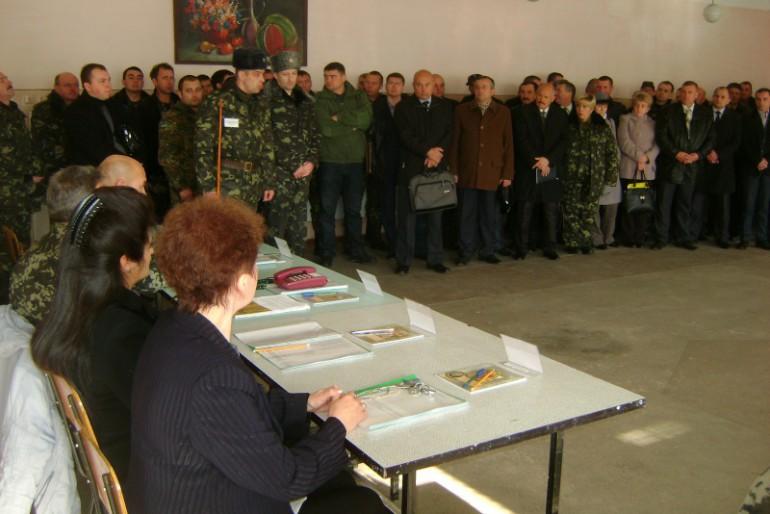 На Тернопільщині проходить мобілізаційний збір