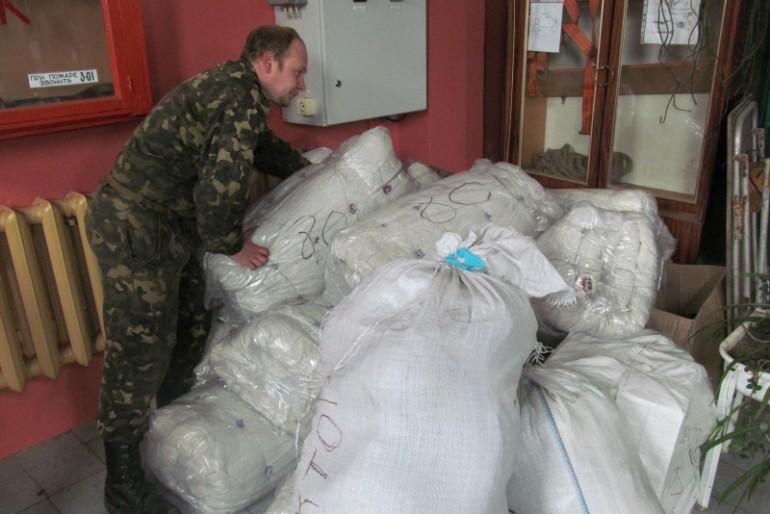 Тернопільські волонтери привезли захисникам Маріуполя гуманітарну допомоги на півмільйона гривень