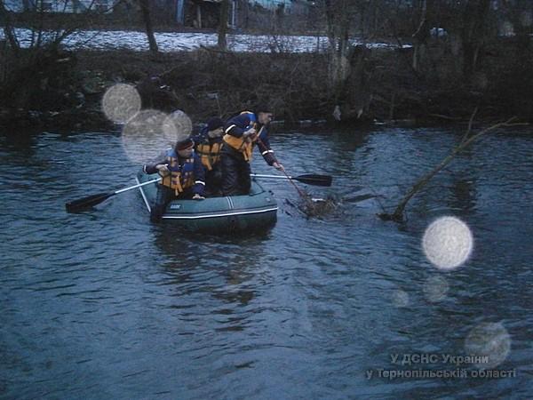 22-23 січня на річці Стрипа тривали пошуково-рятувальні роботи