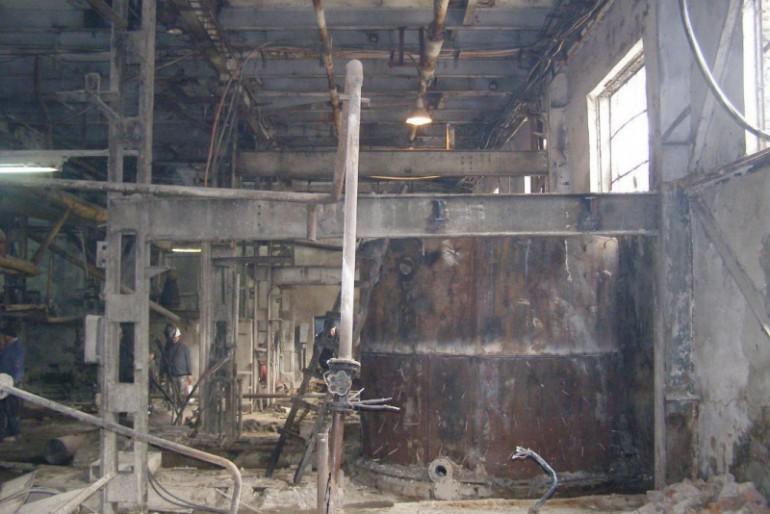 Хоросківський цукровий завод забруднює річку Нічлава