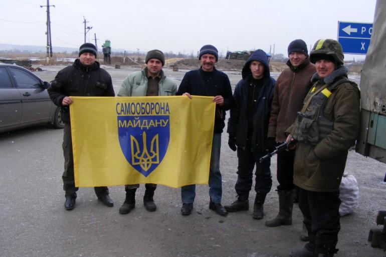 """Бережанська """"Самооборона"""" відвезла на Донбас понад 7 тонн гуманітарної допомоги"""