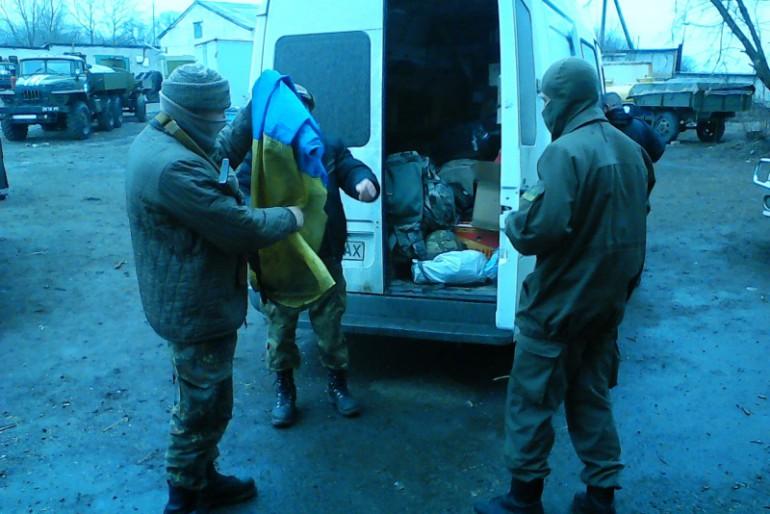 Волонтерський УНСОвський рейд прибув до Маріуполя