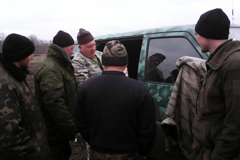 Репортаж з передових позицій на Донбасі