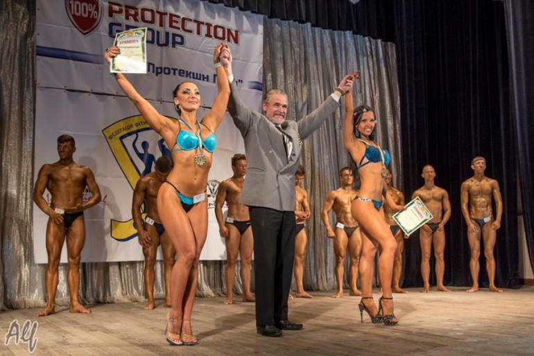 У Тернополі відбувся перший чемпіонат України з фітнесу і бодібілдінгу
